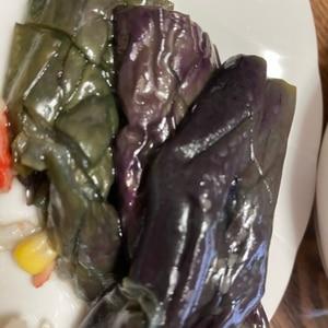 野菜の揚げ煮浸し
