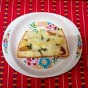 生姜佃煮のトースト