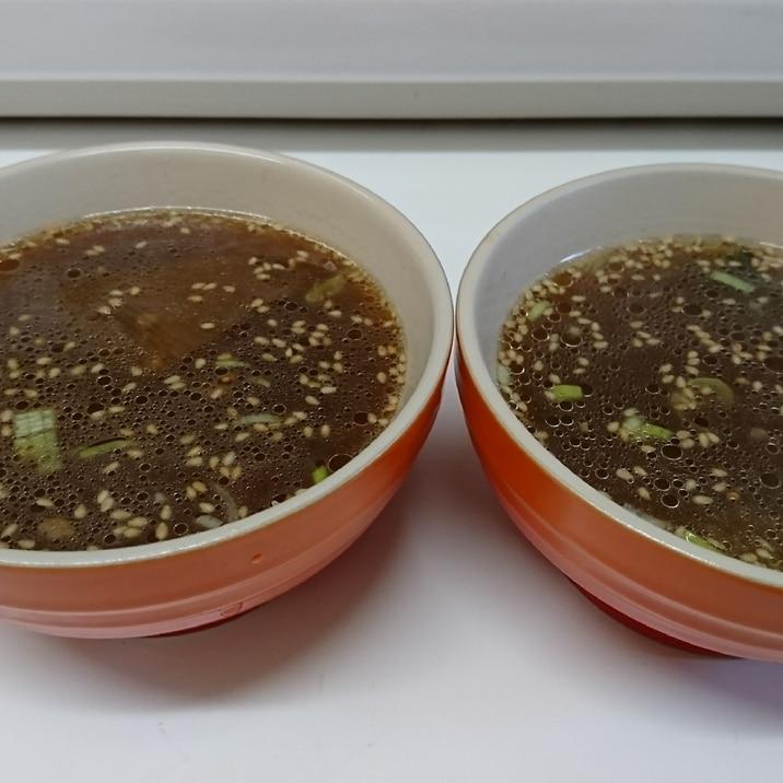 捨てないで!チャーシューのタレ!で中華スープ