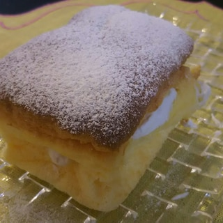 パウンド型でシフォンケーキ♥