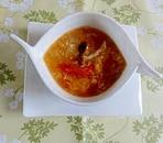 トマトの中華スープ