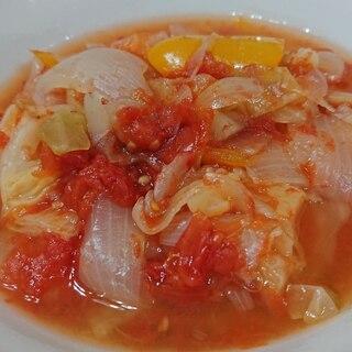 ダイエットに☆ヘルシー☆野菜を食べるトマトスープ