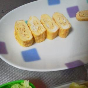 お弁当に❤少し甘めの卵焼き