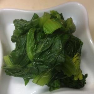 電子レンジで簡単!小松菜の茹で方
