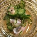 太刀魚の酢の物
