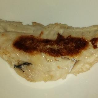 フライパンで赤魚の粕漬け