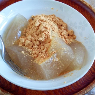 【糖質制限】オオバコわらび餅
