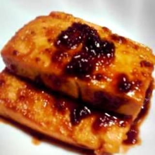 フライパンで★豆腐の味噌田楽