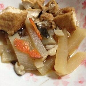 大根と厚揚げの煮物
