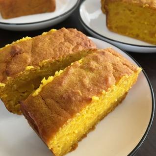 オートミールで! はちみつかぼちゃケーキ