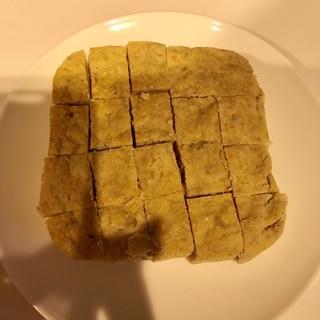 離乳食おやつに☆にんじんとバナナのおから蒸しパン