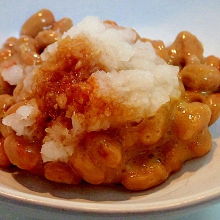 ピリ辛~ ❤おろし納豆❤