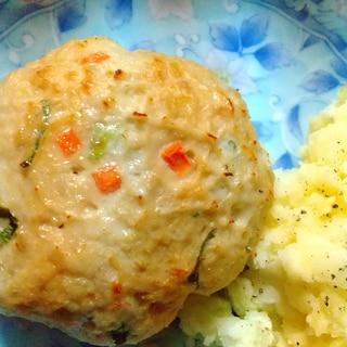 鶏ミンチ豆腐ハンバーグ