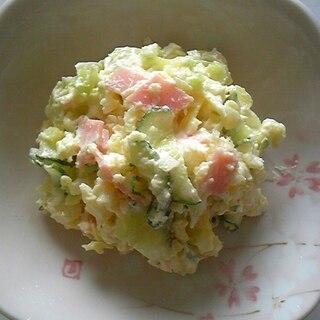春キャベツが入ったポテトサラダ