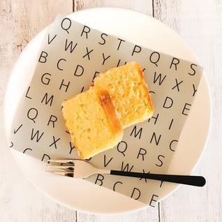 米粉でレモンパウンドケーキ