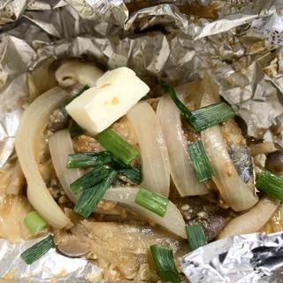和食レシピ さばのホイル焼き 味噌バター