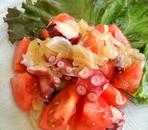 タコとトマトの和風マリネ