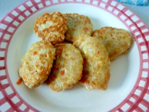 ☆手づかみ食べに♪ 豆腐ハンバーグ☆