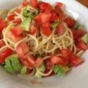 アンチョビサラダスパゲティ