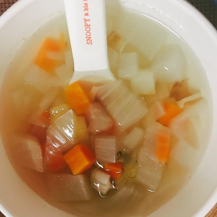 離乳食に、根菜の出汁煮☆