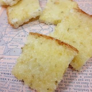 食パンで(^^)シンプル・シュガーラスク♪