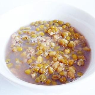緑豆湯 台湾風緑豆ぜんざい
