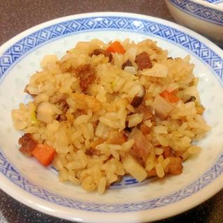 炊飯器で簡単‼︎中華風おこわ