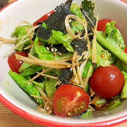 ピリ辛★簡単チョレギサラダ