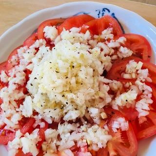 トマトの玉ねぎマリネ
