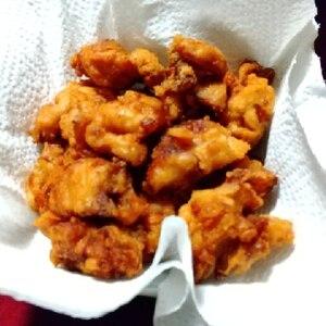 凍鶏もも肉は、下味冷凍してジューシー唐揚げ用に♪