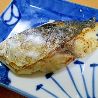 フライパンで作る鰆の塩糀焼き