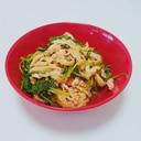 めんどくさがりやさんの京壬生菜と揚げの炊いたん