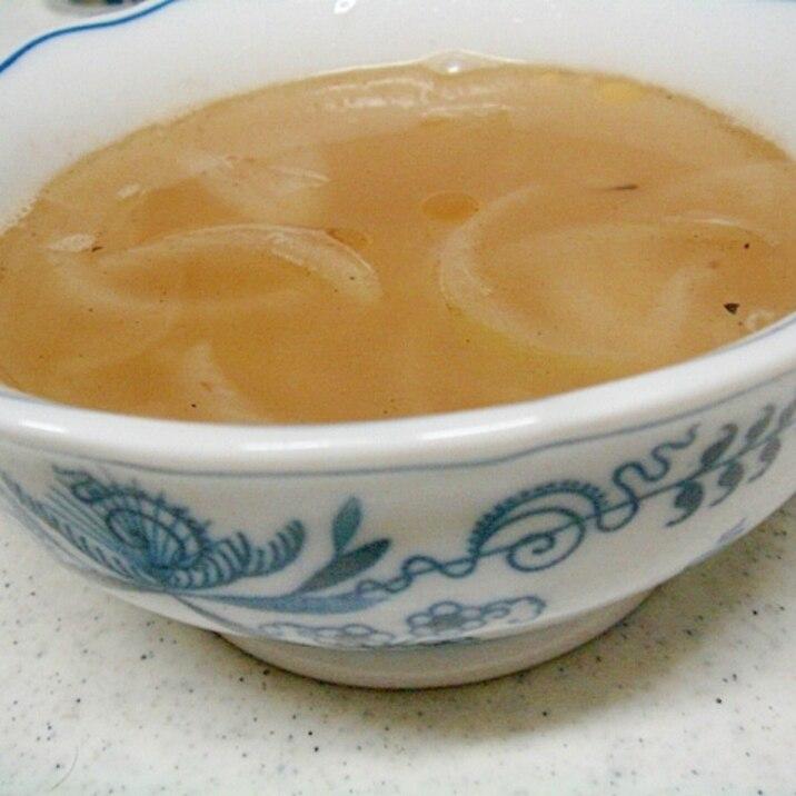 玉葱の中華スープ