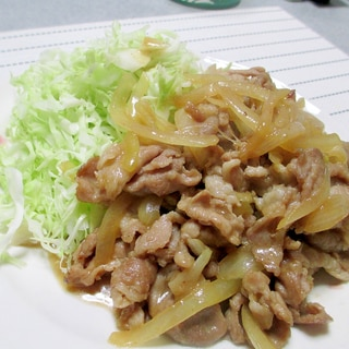 手早く・簡単・激ウマ☆豚の生姜焼き(炒め)