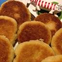 ほぼ計りいらず◆フライパンでクッキー◆卵なし