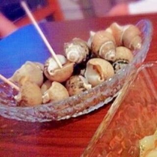 簡単♡ばい貝の酒蒸し