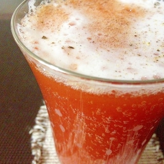 カクテル「レッドアイ」♪ビール×トマトジュース