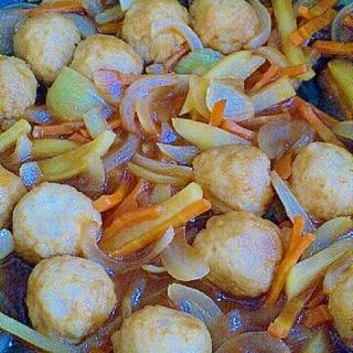 簡単美味!肉団子のケチャップ煮