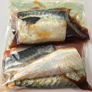 サバの煮付け【冷凍保存】
