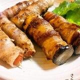 いろいろお野菜★豪快豚バラ巻。