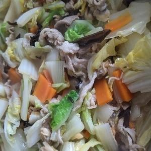 豚肉たっぷり おいしい八宝菜