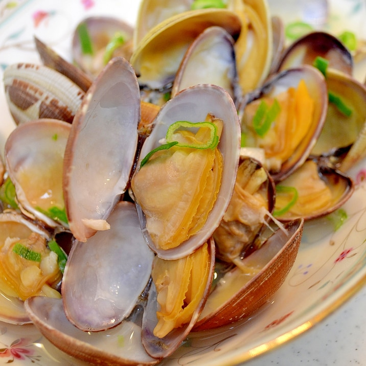 レシピ 蒸し の アサリ 酒 アサリ汁のレシピ・作り方