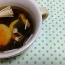 なるととワカメのスープ