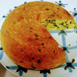 炊飯器で簡単ホウレンソウ&チーズのケーキ