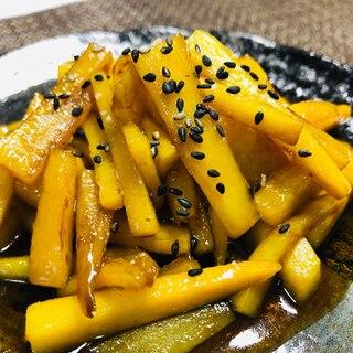 フライパンで簡単!安納芋の大学いもはまるで和菓子♬