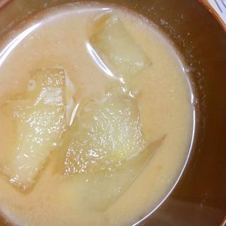 冬瓜の味噌汁