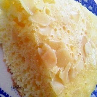 炊飯器で作る♡アーモンドケーキ