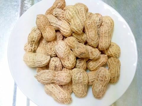 手間いらず☆彡殻付き落花生がレンジで簡単ピーナッツ