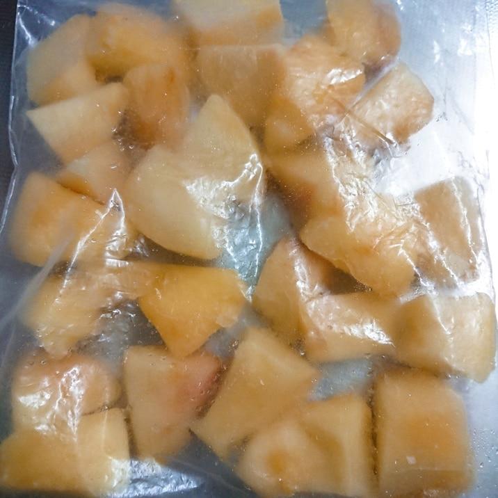 凍らせて美味しい☆桃の冷凍保存方法