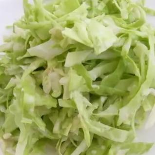 キャベツの生姜ポン酢マヨサラダ